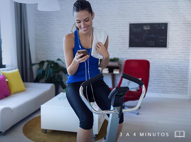 Mejora tu entrenamiento físico con un espacio smart